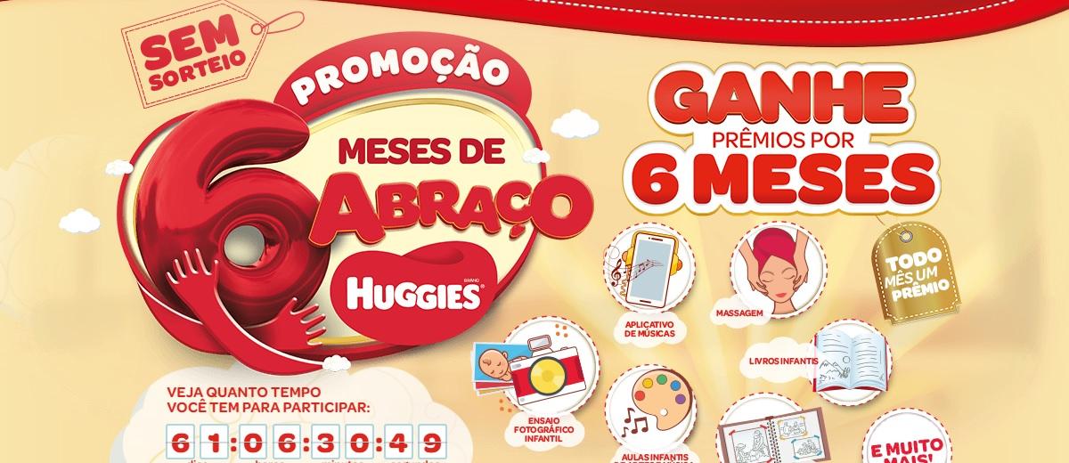 Promoção Huggies Meses De Abraços 2020 Compre Ganhe Prêmios Por 6 Meses - Cadastrar