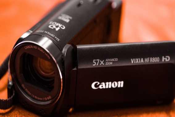 Kamera Vlog Murah Canon VIXLA HF R800 camcorder