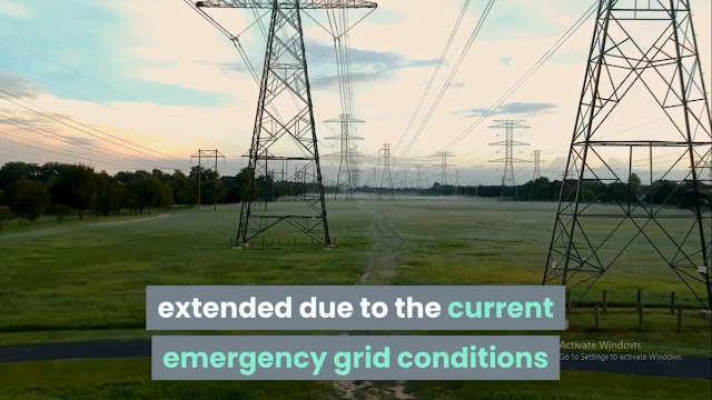 Oncor Rolling power outages