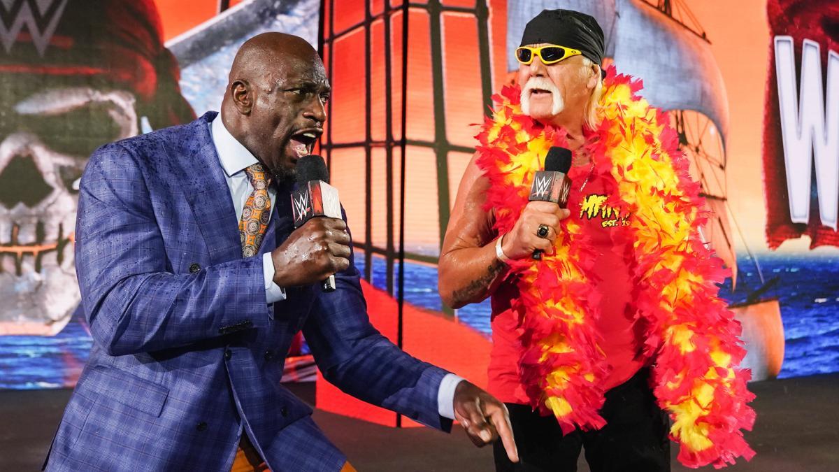 Titus O'Neil ficou chocado com as vaias para Hulk Hogan na WrestleMania 37