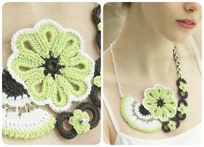 Gargantilla de Crochet Creativa