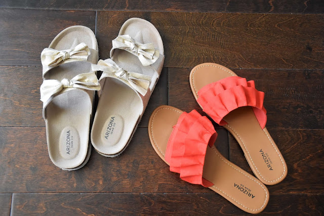 JCPenney Arizona Slip-on Sandals