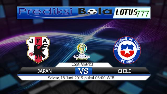 PREDIKSI JAPAN VS CHILE SELASA  18 JUNI 2019