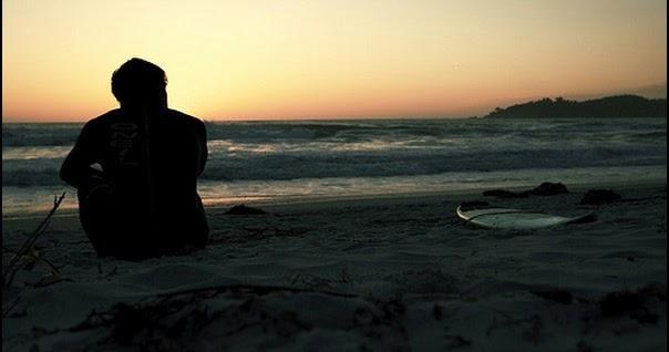 Cute Sad Alone Beach Lonely