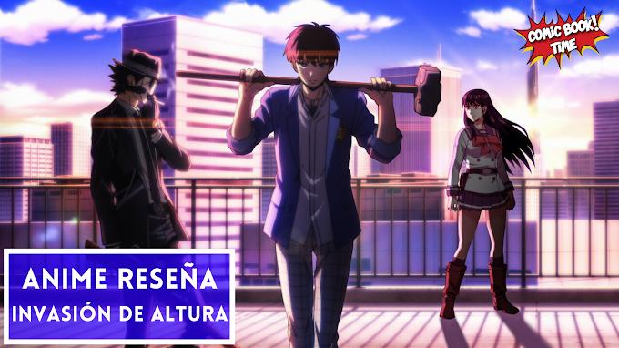Anime Reseña: 'Invasión de altura', asesinatos, suicidios y misterios enmascarados | Licenciado y disponible en Netflix