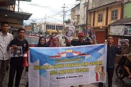 PKC PMII Bali-Nusra Kampanye Perangi Narkoba.