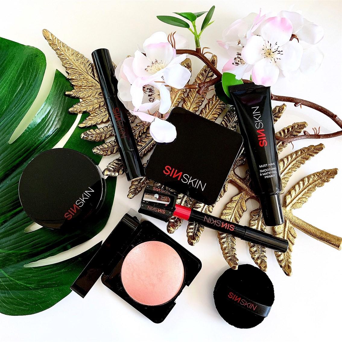 Sin Skin kosmetyki do makijażu blog