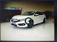 Fisik Lampu Sein Honda Civic Turbo (Original)