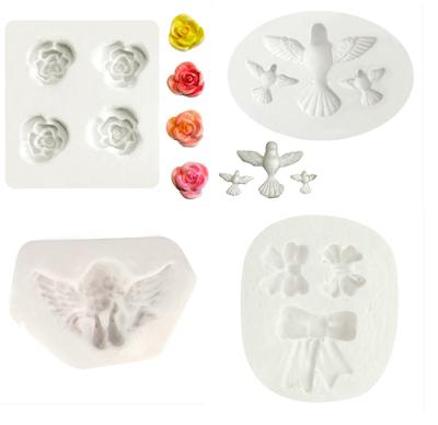 Moldes de Silicone para Decoração em Confeitaria e Artesanato