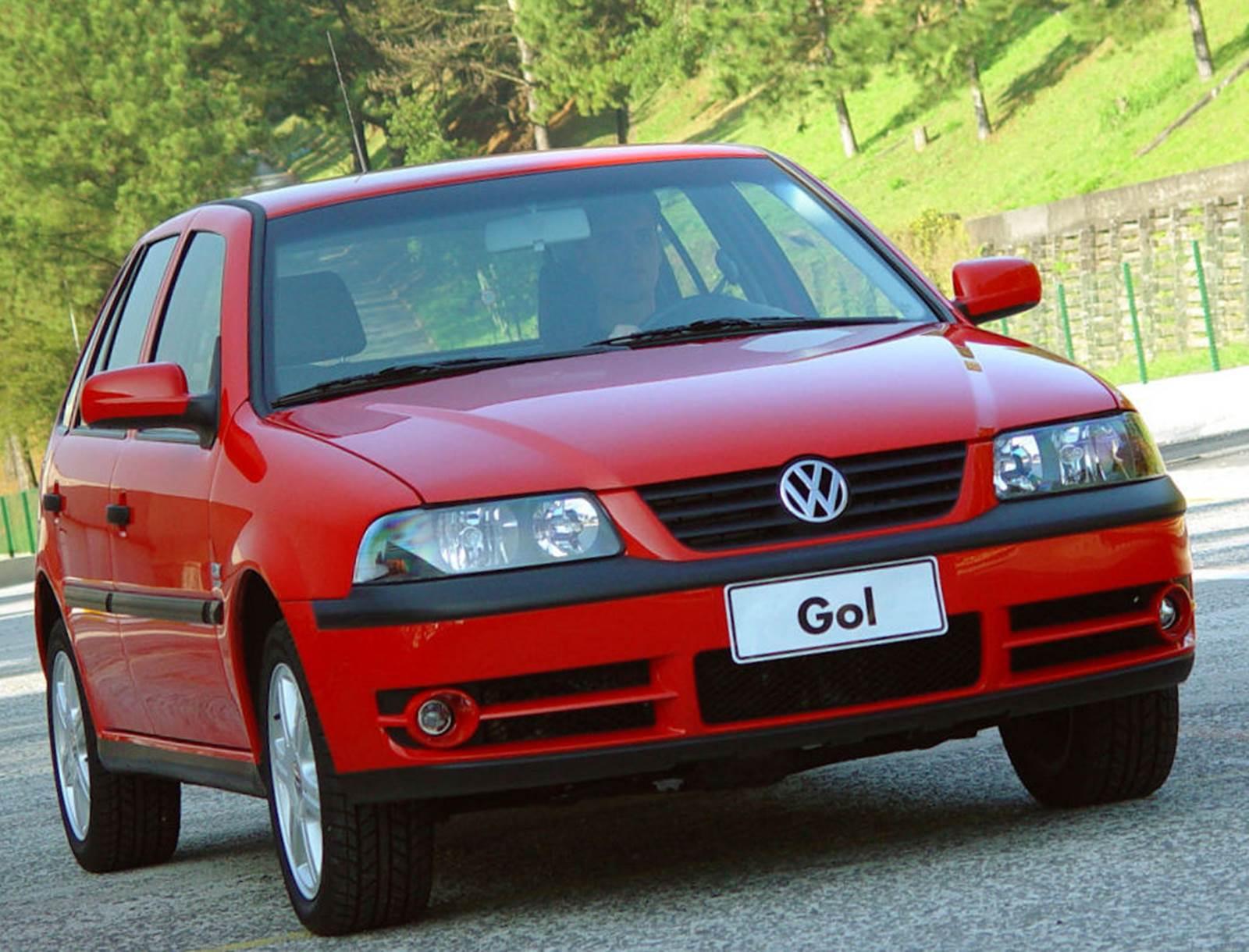 VW Gol - carro mais vendido do Brasil em 2002