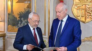 الغنوشي يطلب رسميا قيس سعيد عقد لقاء ثلاثي لحل أزمة و الوقوف عن تعطيل مصالح تونسيين