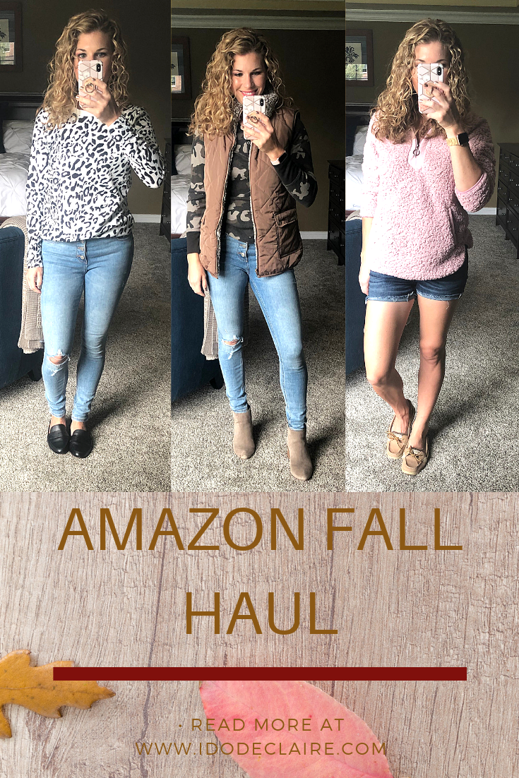 Amazon Fall Haul & Try On