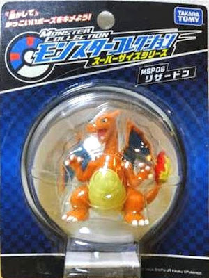 Charizard figure super size Takara Tomy Monster Collection MSP series