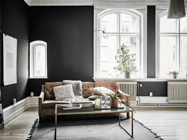 Elegant Black Walls 6