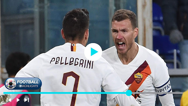 Genoa vs Roma – Highlights