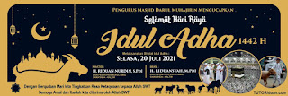 Free Banner Idul Adha CDR