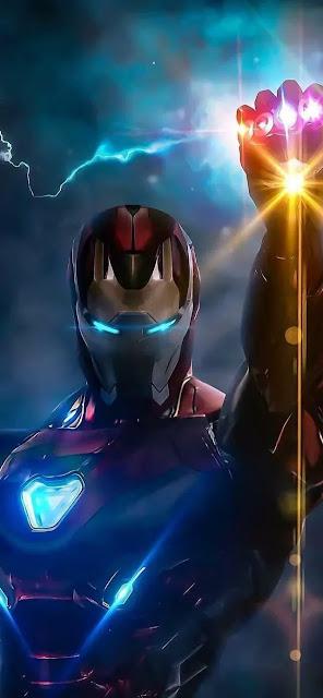 iron man snap wallpaper