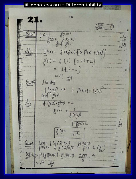 differentiability notes9