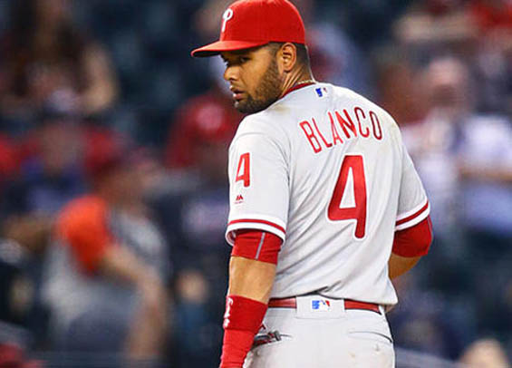 Philadelphia Baseball Review - Andres Blanco pitches in 14-1 Phillies loss