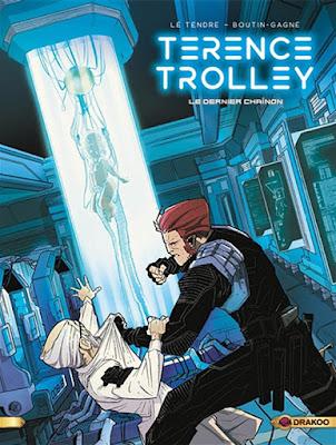 couverture de la BD Terence Trolley tome 2 - Le dernier chaînon
