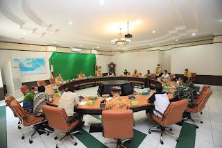 Rapat Kordinasi Tentang Perpanjangan PPKM Level 4