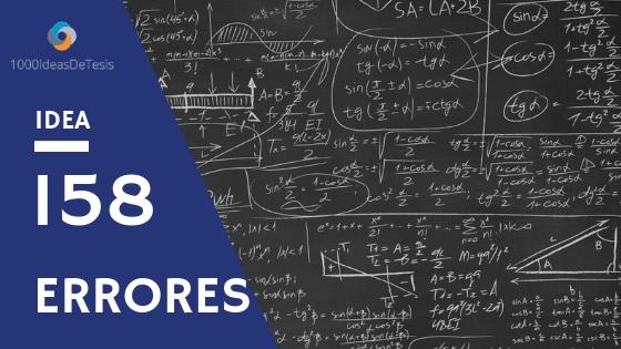 Ideas de tesis 158 de 1000 ideas de tesis: ¿Como ayudar a que el alumno identifique claramente las principales dificultades de la materia de análisis matemático en su formación en Matemáticas?