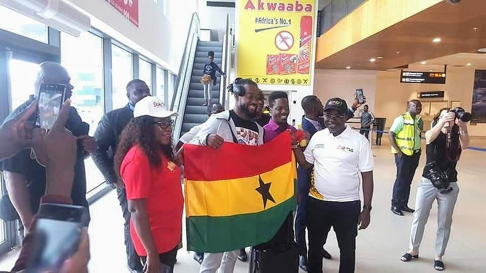 WWE Champion, Kofi Kingston Is In Ghana