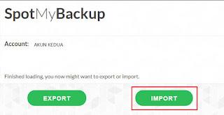 Import atau Copy Playlist Spotify Dari Akun Lama Ke Akun Baru