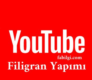 Youtube Özel Filigran Nasıl Yapılır? Abone Ol Butonu Yapımı