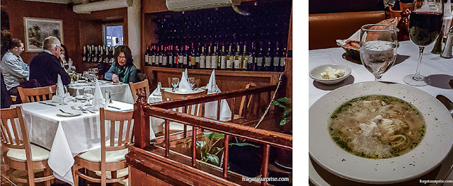 Restaurante Sam's Place, Nova York