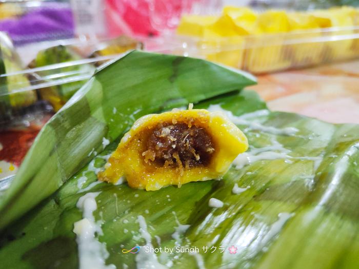 Durian Crepe & Kuih Koci Durian Dapo Mokcik
