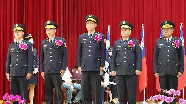 彰縣警局卸新任分局長交接 王惠美期勉建立優質警政