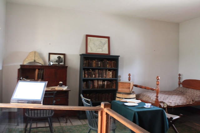 The doctor's room at Fort Snelling.
