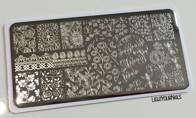 Stamping plate BP-L046 at BornPrettyStore