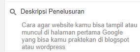 Cara agar website tampil atau muncul di halaman pertama google