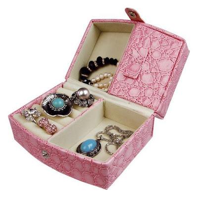 Shop Nile Corp Wholesale Compact Leatherette Jewelry Box