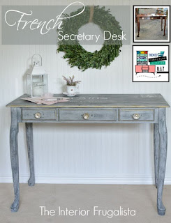 French Secretary Writing Desk