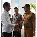 Dikantor Bupati, Hamid Sambut Kedatangan