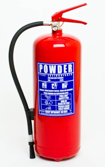 (DCP) Dry Chemical Powder Fire Extinguisher
