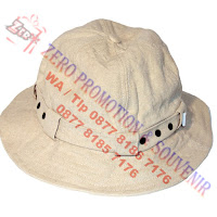 Topi gunung, Topi safari, topi rimba, topi bucket, topi adventure