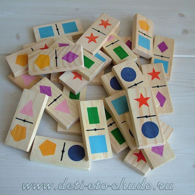 15 игр-занятий с домино