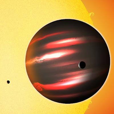 TrES 2b, el exoplaneta más oscuro que el carbón