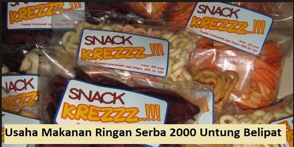 Usaha Makanan Ringan Serba 2000