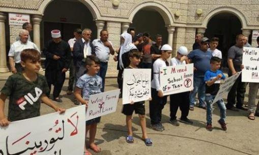 ابناء الجولان السوري المحتل يعلنون اضراباً عاماً ضد المخططات الإسرائيلية