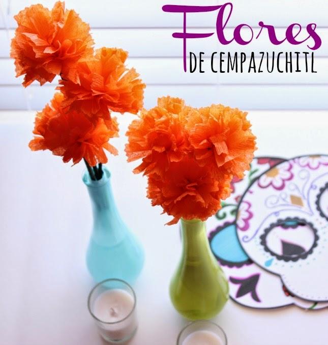 Una Mexicana en USA - Cómo hacer flores de Cempazuchitl para el altar de muertos