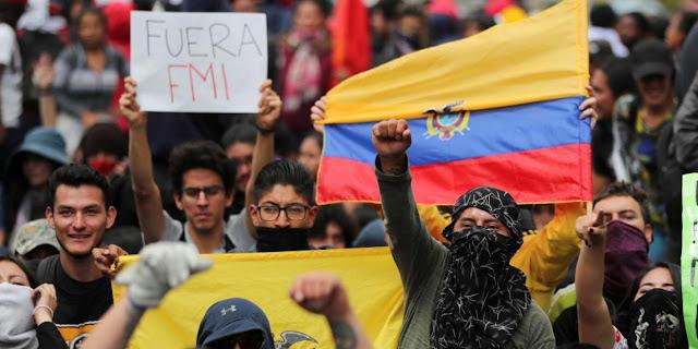 El pueblo de Ecuador rechaza en las calles las imposiciones del FMI