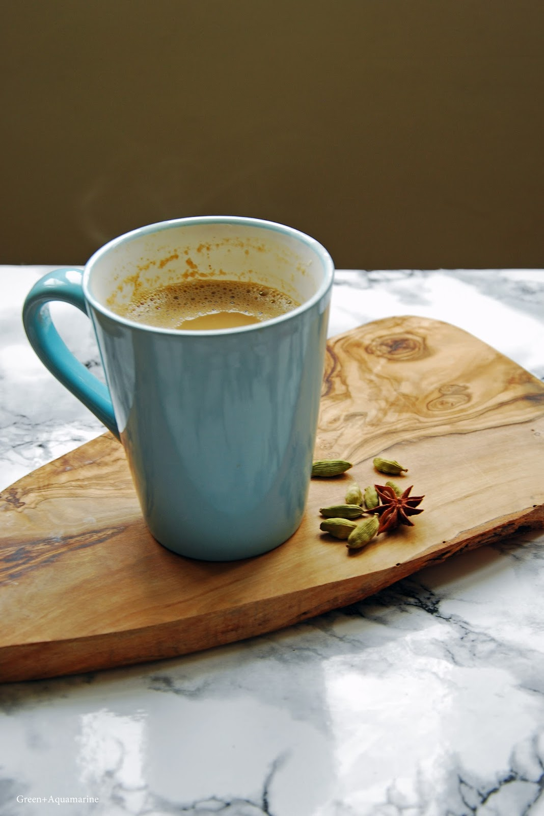 Recipe for chaga mushroom flavoured chai tea. Via @eleanormayc