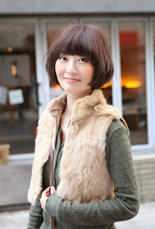 Japanese hairstyles for women straight
