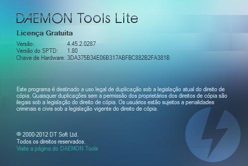 Sobre DAEMON Tools