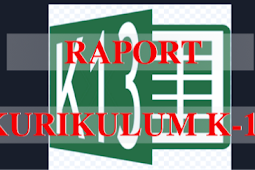 Aplikasi Raport Kelas 1,2,3,4,5,6 Kurikulum K-13 Terbaru